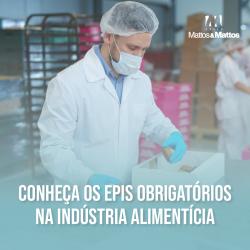 EPIS OBRIGATÓRIOS NA INDÚSTRIA ALIMENTÍCIA