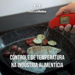 Controle de temperatura na indústria alimentícia