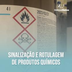 Sinalização e rotulagem de produtos químicos
