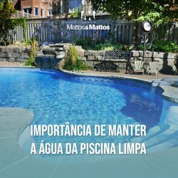 Importância de manter a água da piscina limpa