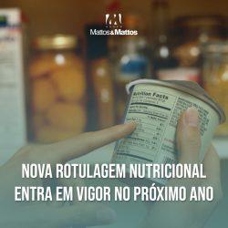 Nova Rotulagem Nutricional entra em vigor no próximo ano